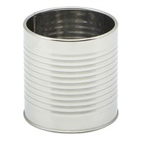 Tin Can Stainless Steel 8cm