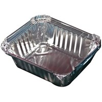 Takeaway Foil Container 13 x 10 x 4.5cm
