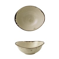 Bowl Oval Deep Harvest Beige 17.4 x 14.7cm 47cl
