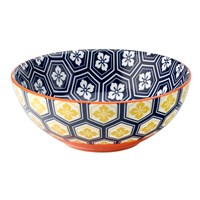 Bowl Cadiz Blue Orange16cm