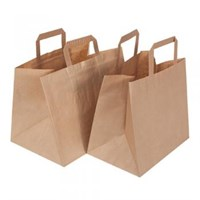 Take Away Bag Brown 26 x 17.5 x 24.5cm