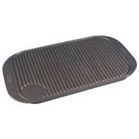 Griddle Tray Reversible Cast Iron 48 x 25cm