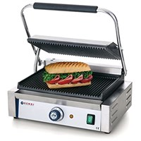 Contact Grill Panini Ribbed Top and Bottom