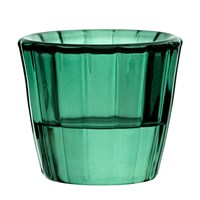 Nightlight Holder Ribbed Green 5.7cm