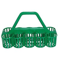 Green Plastic Bottle Carrier