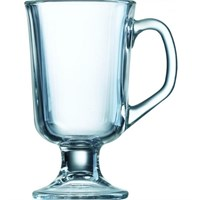 Mug Footed Round Clear 29cl Arcoroc