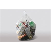 Bin Bag Clear Compactor Sack 20 33 46in