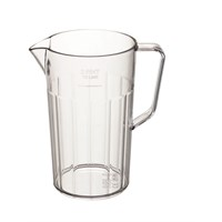 Plastic Panelled Pitcher Jug 1.1L