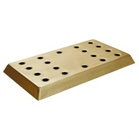 Bar Drip Tray Brass Effect 40.6cm x 22cm