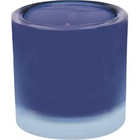 Blue Frosted Nightlight Holder