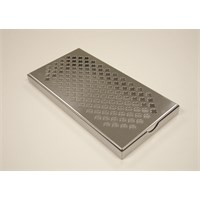 Stainless Steel Bar Drip Tray 30x15cm