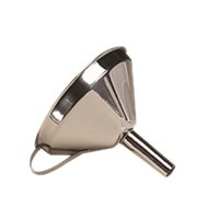 Stainless Steel Funnel 13cm