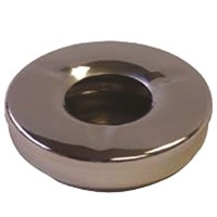 Steel Round Windproof Ashtray 11cm (4.5'')