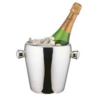 Steel Champagne Bucket With Tulip Handles