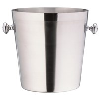 Satin Steel Champagne Bucket With Handles