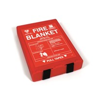 Large Fire Blanket - Wall Mounted