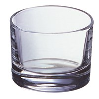 Nightlight Holder Clear Glass Elegance 48 X 35mm
