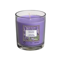 Lavender Scented Candle Jar 30hrs