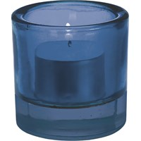 Cobalt Blue Glass Nightlight Holder