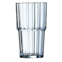 Fluted Stacking Highball 32cl (11.25oz)