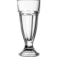 Panelled Milkshake Glass 29cl (10oz)