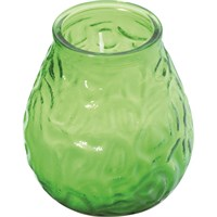 Lowboy Candle Lamp Lime Green