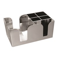 Chrome Bar Caddy