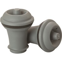 Grey Wine Vacuum Stoppers For 63393