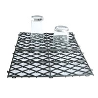 Black Interlocking Bar Mat
