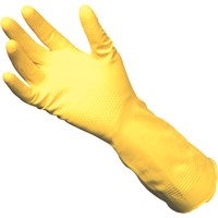 Yellow Rubber gloves - Medium