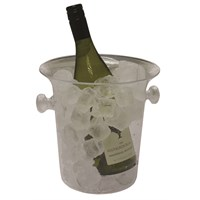 Clear Acrylic Champagne Bucket With Handles