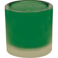Frosted Green Nighlight Holder