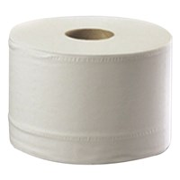 Smart System White Toilet Tissue 192m