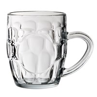 Dimple Beer Mug 29cl (10oz) LCE 1/2 Pint