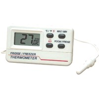 Digital With Probe Fridge Freezer Thermometer