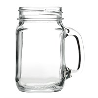 Drinking Glass Cocktail Jar 49cl (16.5oz)