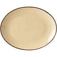Copper Collection Oval Plate 30cm (11.8'')